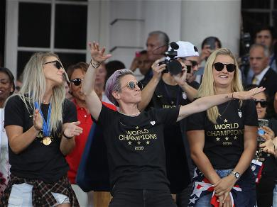 Watch Megan Rapinoe Fire Up the Crowd With Her Sick Dance Moves