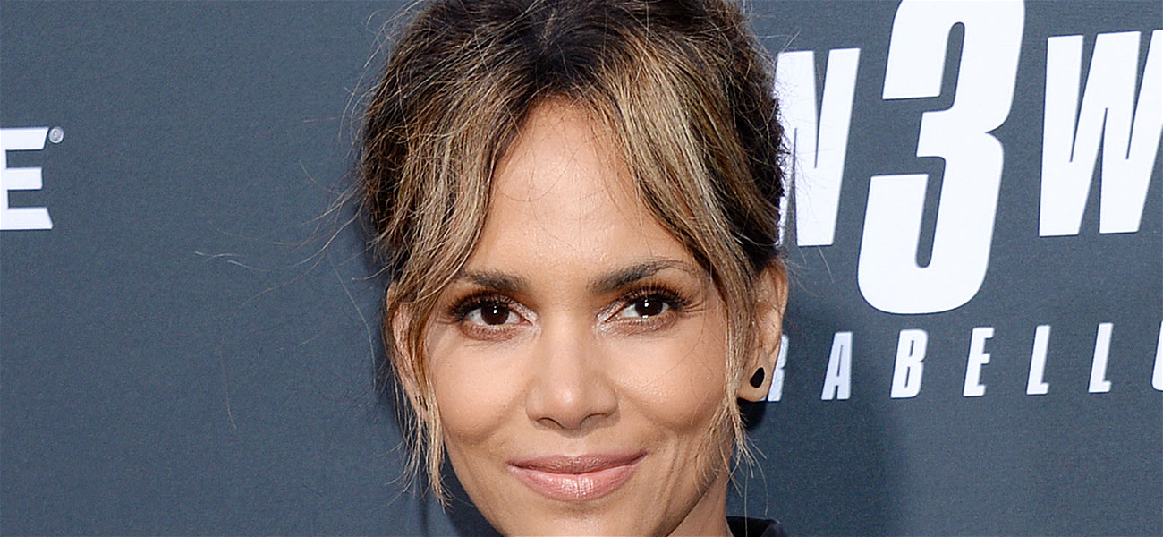 Halle Berry Demonstrates Superman Punch In Sports Bra To Disable An Attacker