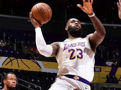 LA Lakers' LeBron James Scores A Million Points On Mother's Day: 'I Don't Know How You Did It'