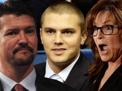 Sarah Palin's Husband Pointed a Gun at Their Son During Bloody Fight