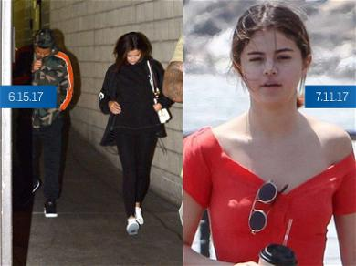 Selena Gomez Pictured Before & After Month Long Absence