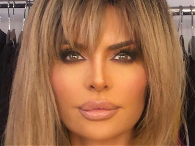 'RHOBH' Star Lisa Rinna Caught In Only Towel At Hotel Pool