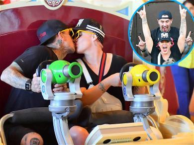 P!nk & Carey Hart Have Rockstar Date at Disneyland