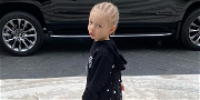 Drake's Shows Off Son Adonis' First Day Of School Photo, Rolls In Style