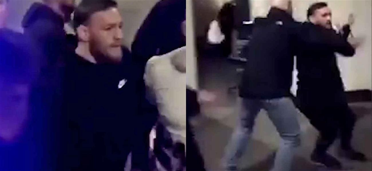 Conor McGregor Goes Crazy at UFC Event, Dana White Says Incident 'Makes Me Sick'