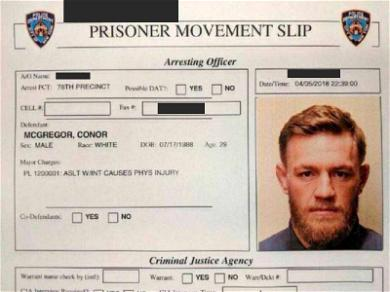NYPD Investigating Conor McGregor's Leaked Mugshot