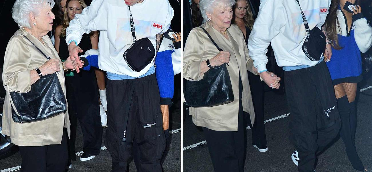 Pete Davidson Scores Major Points With Ariana Grande Holding Hands With Her Grandma