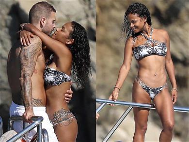 Ooh La La! Christina Milian Getting Wet & Wild With Boyfriend in France