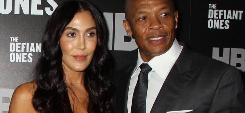 Dr. Dre's Alleged Mistress Dresses As A Devil After Being Dragged Into His Divorce