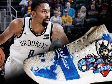 Nipsey Hussle Tribute Shoes Worn by NBA Player Spencer Dinwiddie Hit Auction Block