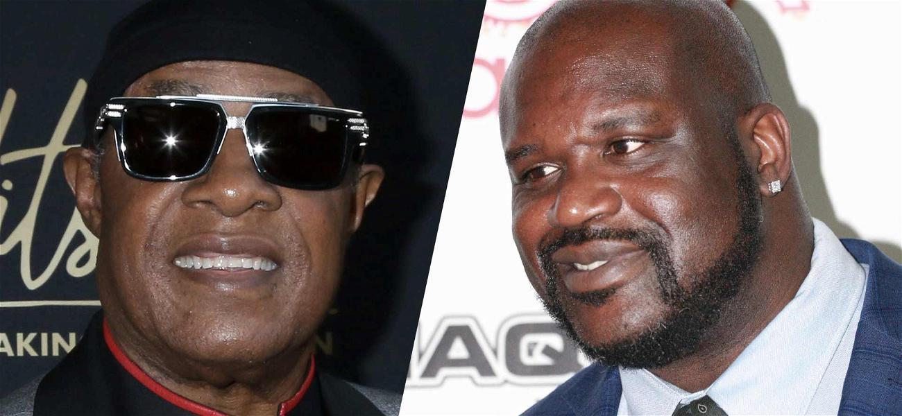 Shaq Questions If Stevie Wonder Is Really Blind After Strange Elevator Encounter