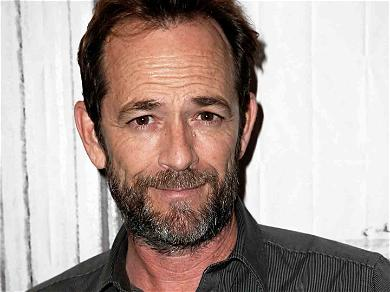 Luke Perry Hospitalized After Suffering a Possible Stroke at His Home
