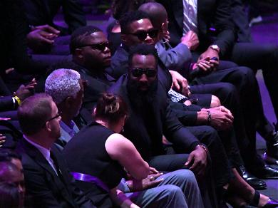 Russell Westbrook And James Harden Were Determined Not To Miss Kobe Bryant Celebration Of Life
