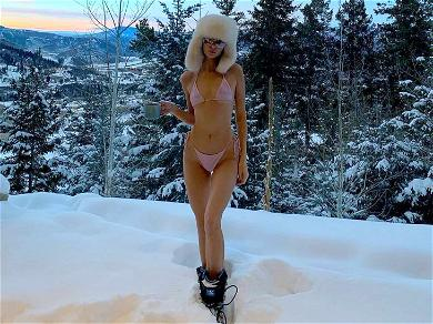 Kendall Jenner Opts for a Bikini in Sub-Zero Temperatures (and We Are Not Mad About It)