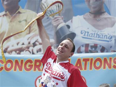 Joey Chestnut Hot Dog Miscount Causes Gambling Fiasco, Bookies Scramble to Fix Bets