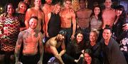 Newly Engaged Kaley Cuoco Gets Down at Magic Mike Live … Twice