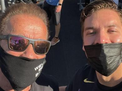 Arnold Schwarzenegger Gives Son Joseph Baena Workout Advice: 'NO Cheating'