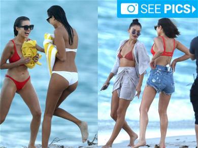 Olivia Culpo & Shanina Shaik's Bikini Daze