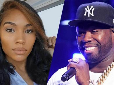 50 Cent & Girlfriend Cuban Link Spotted Partying For His 45th Birthday