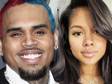 Chris Brown Shares Shirtless Shot Of Baby Mama Ammika Harris