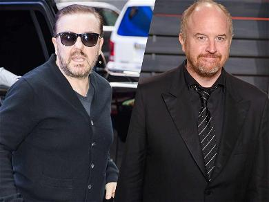 Ricky Gervais Defends Louis C.K.'s Controversial Standup Material: 'You Can Joke About Whatever the F**k You Like'