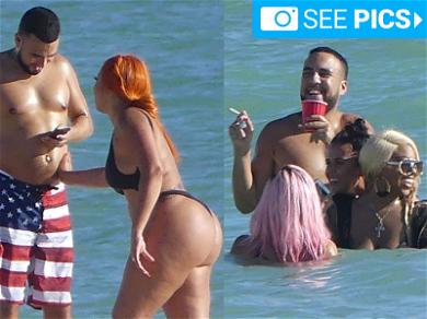 French Montana Goes Big in Miami