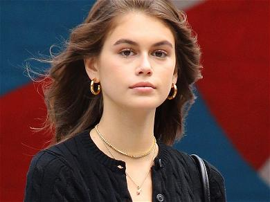 Kaia Gerber Criticized For Bikini Hangout With Middle-Aged Dad