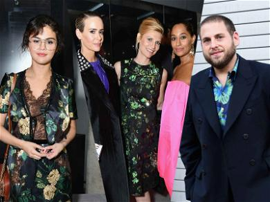 Selena Gomez, Jonah Hill and Sarah Paulson Wanna Lotta Prada