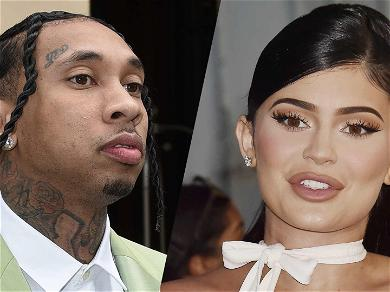 Check Out Kylie Jenner Dance When Her Ex Tyga's Song Plays At Diddy's Twin Daughters' Birthday Party