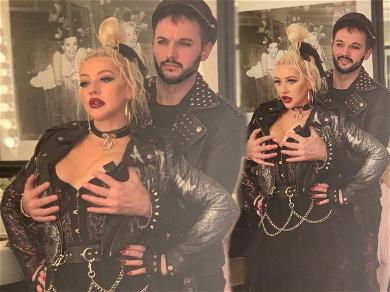 Christina Aguilera Gets 'Dirrty' With Handsy Husband on 38th Birthday