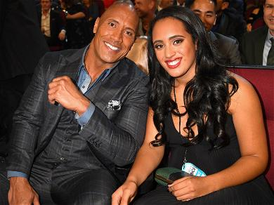 Dwayne 'The Rock' Johnson's Daughter Simone Officially Signs On With WWE