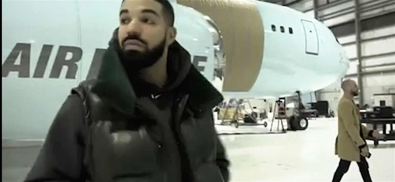 Drake Shows off His New Private Plane and Swears It's All His