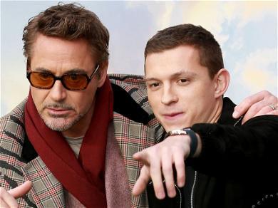 Tom HollandIMPROVISED His 'Spider Man' Audition With Robert Downey Jr.