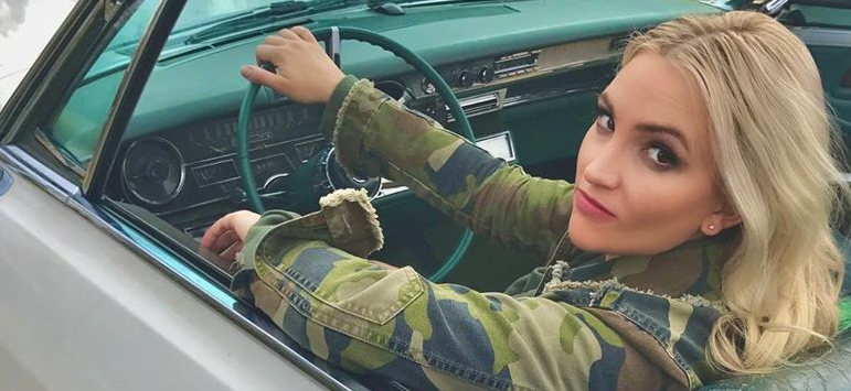 Jamie Lynn Spears Channels Britney With 'Crossroads' Vibes In Vintage Car Shots
