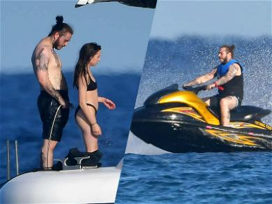 Post Malone Has a Swell Time With Bikini-Clad Girlfriend On Yacht in St. Tropez