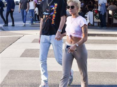 G-Eazy and Halsey Out in Beverly Hills