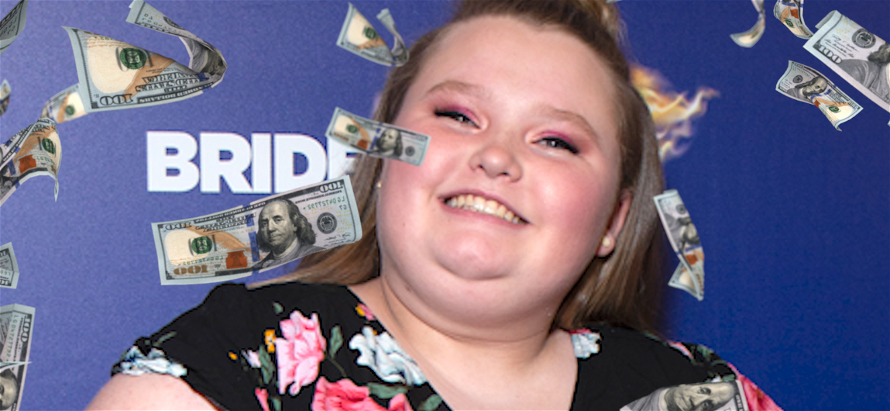 Mama June's Daughter Honey Boo Boo Making Thousands Filming Cameo Videos
