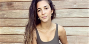 Gymnast Aly Raisman Unzips Pants After Feeding Waist With Pastries