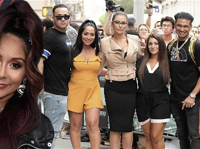 Snooki Joins 'Jersey Shore' Cast On Press Day Despite 'Retiring' From Show