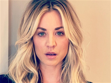 Kaley Cuoco Looks Drop-Dead Gorgeous In Skin-Tight Workout Gear!