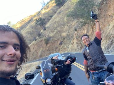 Michael Jackson's Son, Prince, Takes Road Trip to Yosemite
