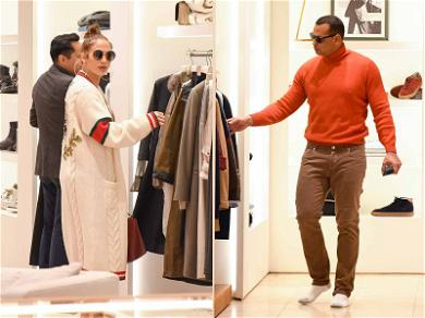 A-Rod and JLo Shut Down Store While He Models Clothes, Like Every Boyfriend
