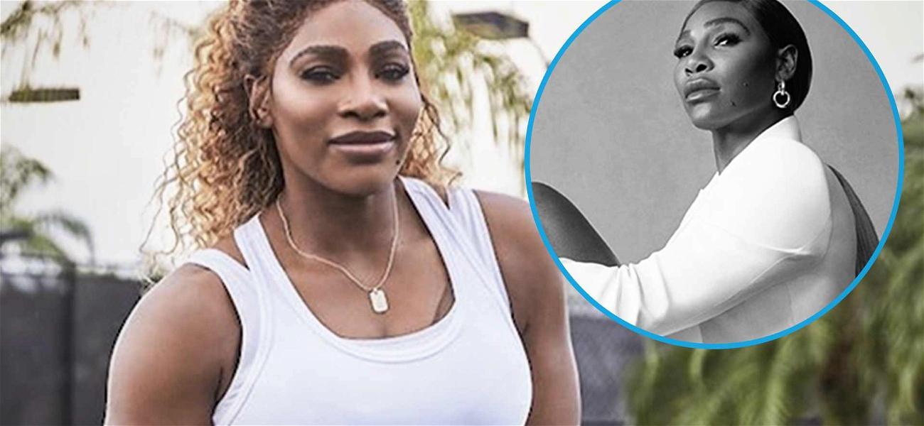 Serena Williams Brings The Heat With Drool-Worthy Legs In Pantless Heel Shots