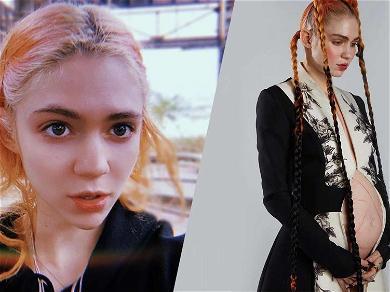 Grimes Calls Unborn Baby 'They' In Gender Barring Tweet Amid 'Genius' Name Reveal