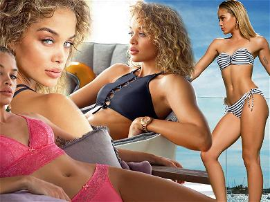 Sports Illustrated Rookie Jasmine Sanders Leaves Us Thirsty for More With Sexy Photoshoot