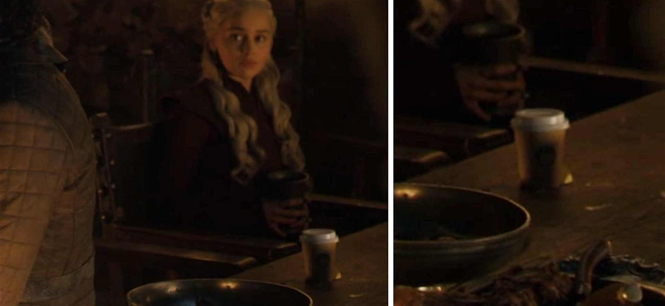 'Game of Thrones' Left a Coffee Cup in One of the Last Episodes
