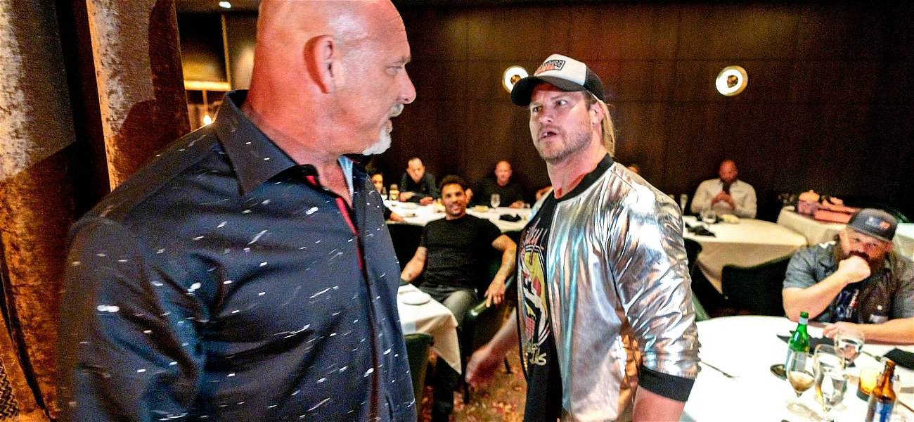 WWE Stars Goldberg and Dolph Ziggler Nearly Come to Blows During Las Vegas Run-In