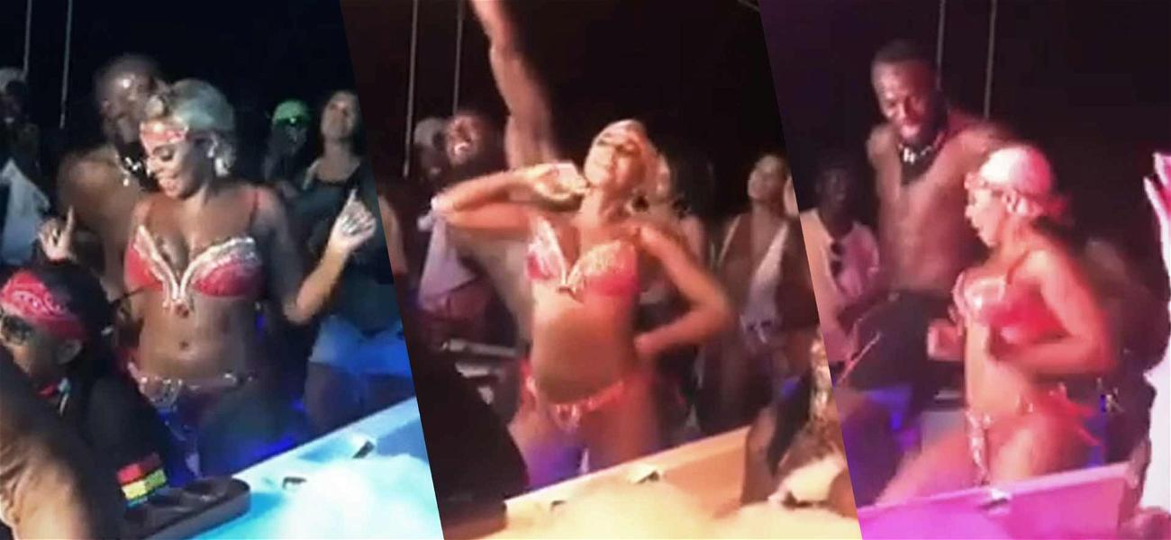 Ashanti & Usain Bolt Put Some Motion in the Caribbean Ocean During Yacht Party