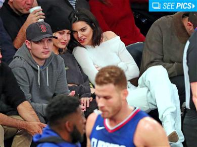 Kendall Jenner and Hailey Baldwin Had an Amazing Time Watching Blake Griffin Lose