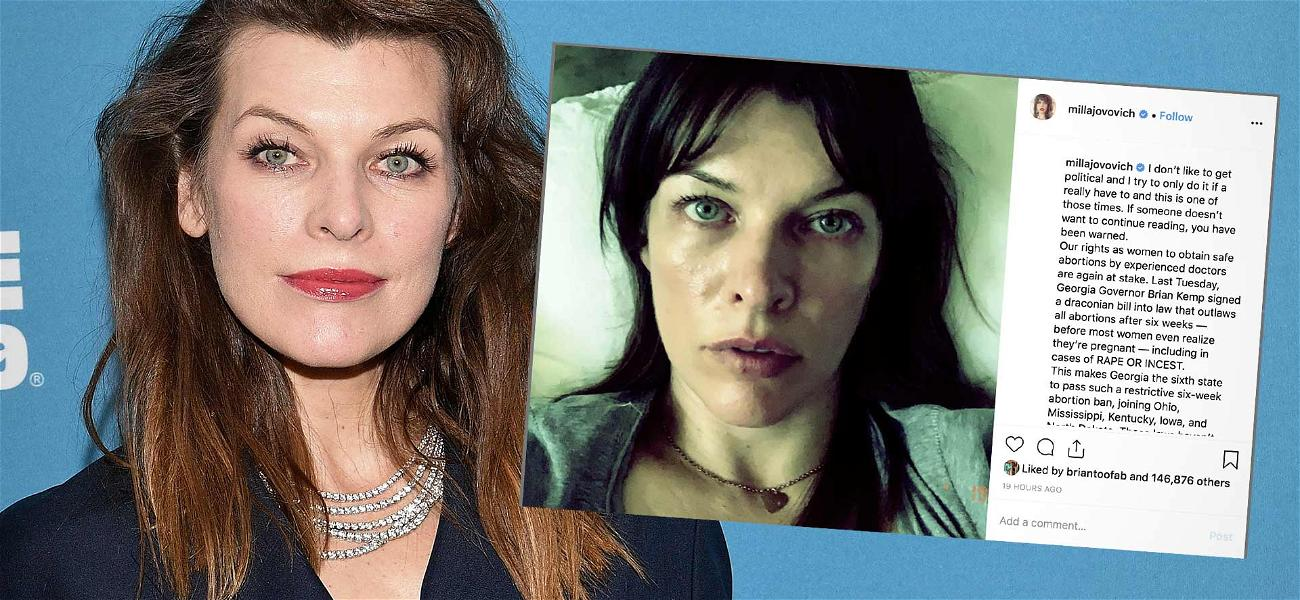 Milla Jovovich Reveals She Had an Abortion, Spiraled Into a Deep Depression